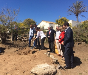 First steps towards Mojacar's new prom