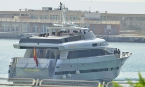 The yacht Fortuna, gifted to King Juan Carlos in 2000, has since been sold off (Photo: EFE)