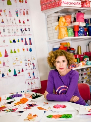 Ágather Ruiz de la Prada is known for her brightly coloured, playful items