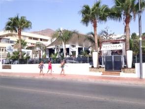 The Moma Beach nightclub where the shooting took place