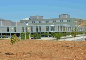 Construction of the hospital was completed two and a half years ago
