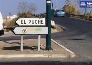 The girl was shot in El Puche, a neighbourhood police describe as 'crime-ridden'