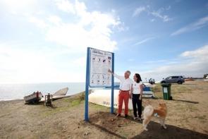 Marbella's dog beach is at Linda Vista in San Pedro de Alcántara