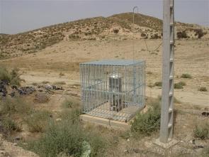 A radiation sensor located close to Palomares