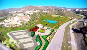 An image from the promotional vieo for the planned park