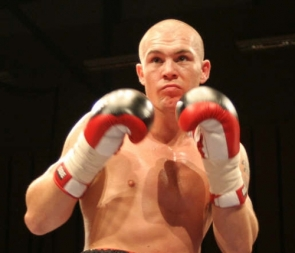 The Salfotd boxer retired fromthe ring in 2010 but was on the coast to train Matthew Macklin