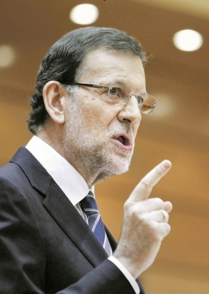 PM Mariano Rajoy wants rules changed before the municipal elections in May of next year