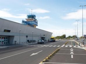 Almería airport passenger terminal