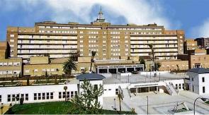 The Virgen de Rocio hospital in Seville – designated Ebola treatment centre