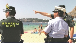 Members of international police forces will be patrolling the Costas
