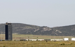 The 'ghost' airport in Ciudad Real has been idle since 2012 . photo:EPA
