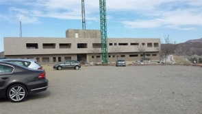 Work on Arboleas new health centre is at a standstill