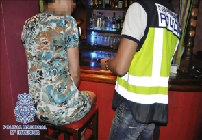 National police dismantled a sex-trafficking ring in Roquetas last month