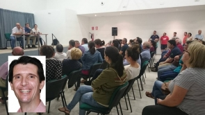 More than 200 people attended a meeting to dicss fundraising ideas