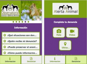 Animal welfare app available to download on android