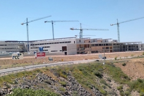 The hospital should have been completed in mid-2012