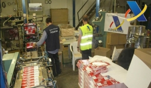 The factory could produce up to 1.5 million packs of cigarettes a week