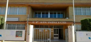 The San Indalecio school where the incident occurred