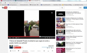 The video has been viewed by over 350,000 people on YouTube