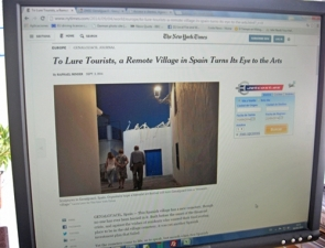 The article was published in the September 3 issue of The New York Times (Photo: CDSN)