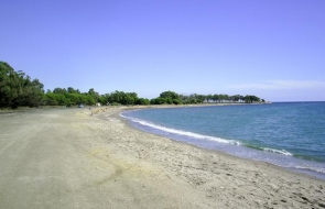 The Quitapellejos beach in Palomares is one of the three which have been affected