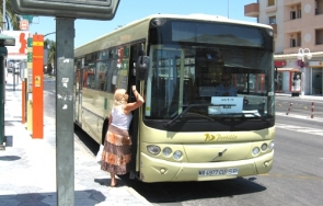 Portillo operates many routes in the Málaga's transport consortium's provincial network