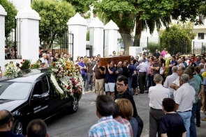 The victim, Jesús Madrigal Burgos, was buried in Motril on Sunday