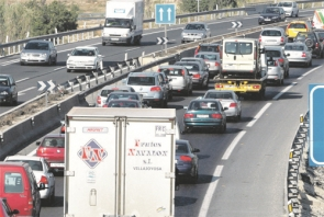 When the economic crisis hit, traffic jams became a thing of the past, now they're back