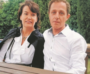 Ingrid Sartiau with Albert Solá Jiménez