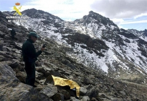 The body was found in the mountains of Sierra Nevada, some 3,000 metres above sea level (Photo: EFE)