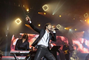 David Bisbal performing at the concert (Photo: EPA)