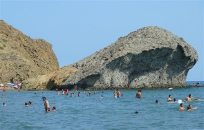 The beach close to where the tragedy occurred is one of Almería's most famous tourist spots