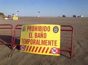 Bathing ban remains in place in two beaches