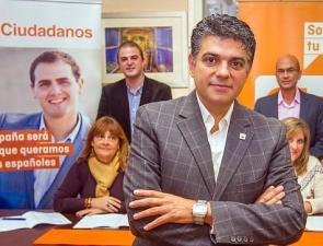 Almería councillor for the Ciudadanos party, Miguel Cazorla