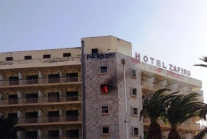 The fire at the abandoned Hotel Zafiro has inflamed residents