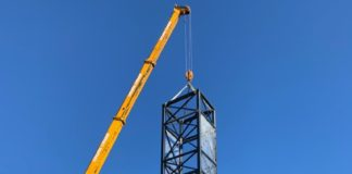 Guardamar car park lift installation