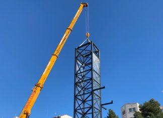 Guardamar car park lift installation